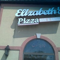 Photo taken at Elizabeth's Pizza by Scion on 9/1/2011