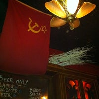 Photo taken at KGB Bar by Tara M. on 11/29/2011