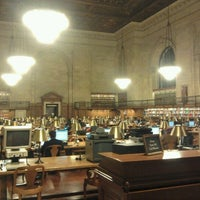 Photo taken at Rose Main Reading Room - New York Public Library by József P. on 12/20/2011