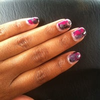 Photo taken at Siditty Kitty Nail Boutique by tinesha m. on 7/16/2011
