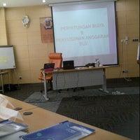 Photo taken at Pusdiklat Anggaran dan Perbendaharaan by rini y. on 10/20/2011