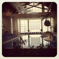 Photo taken at Pool @ Hyatt. by Ty C. on 12/7/2011