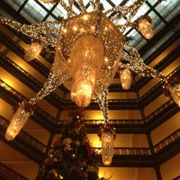 Photo taken at The Brown Palace Hotel and Spa by Ben E. on 12/25/2011