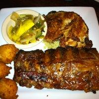 Photo taken at 13 Bones - Ribs - Seafood - Steak by Lindsay R. on 7/18/2012