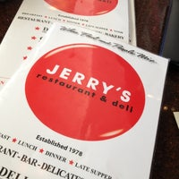 Photo taken at Jerry's Famous Deli by Steven A. on 4/15/2012