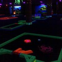 Photo taken at Glowgolf Mini Golf - Holyoke Mall by Mike M. on 8/11/2012