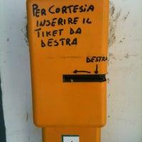Photo taken at Stazione di Ostuni by Fabio G. on 3/30/2012