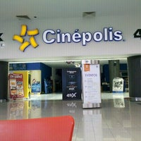 Photo taken at Cinépolis by Andres G. on 6/27/2012