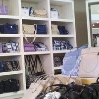 Photo taken at Coach Factory Store by Kelley P. on 4/1/2012