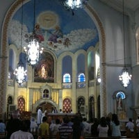 Photo taken at National Shrine of Our Lady of Lourdes by Maria Criselda D. on 2/25/2012