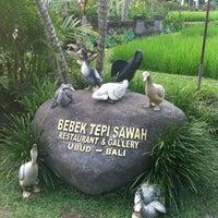 Photo taken at Bebek Tepi Sawah Restaurant & Villas by Angeline V. on 2/26/2012