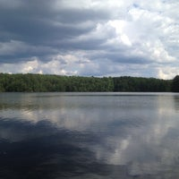 Photo taken at Lake Johnson by Going Diamond Y. on 6/5/2012