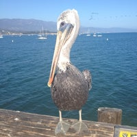 Photo taken at Stearns Wharf by Yuko on 9/1/2012