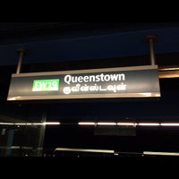 Photo taken at Queenstown MRT Station (EW19) by Phil M. on 8/19/2012