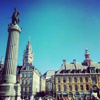 Photo taken at Grand'Place – Place du Général de Gaulle by Laurent H. on 9/7/2012