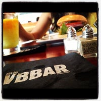 Photo taken at Village Burger Bar by Jean M. on 8/18/2012