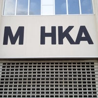 Photo taken at M HKA by Klaas V. on 4/24/2012