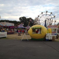 Photo taken at Franklin County Fairgrounds by Brittany T. on 8/8/2012