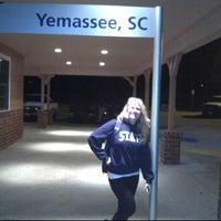 Photo taken at Amtrak - Yemassee Station (YEM) by Jack L. on 3/9/2012
