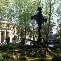Photo taken at Plaza de la Cruz by jesus on 6/25/2012