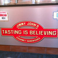 Photo taken at Jimmy John's by Kyle G. on 6/17/2012