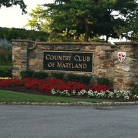 Photo taken at Country Club Of Maryland by TheGreatJumbolini on 6/29/2011