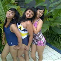 Photo taken at Lovely Swimming Pool by Made Utami A. on 1/7/2012