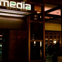 Photo taken at Media Grill + Bar by Kurt von Schleicher w. on 3/9/2011
