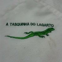Photo taken at Tasquinha do Lagarto by Vitor C. on 2/15/2012