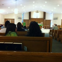 Photo taken at Holy Family Church by Lee on 7/8/2012