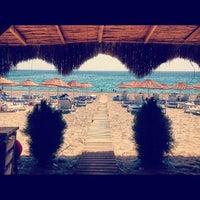 Photo taken at Bedya Beach by Hale T. on 9/1/2012
