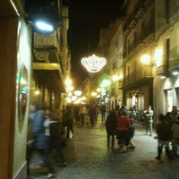 Photo taken at Calle Mayor by Diego G. on 12/28/2011