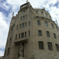 Photo taken at BBC Broadcasting House by Peter B. on 6/28/2012