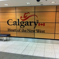 Photo taken at Calgary International Airport (YYC) by Mitchell S. on 9/24/2011