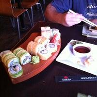 Photo taken at Niu Sushi by Cristóbal S. on 11/9/2011