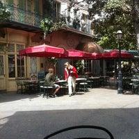 Photo taken at French Market Restaurant by Alex W. on 4/3/2011