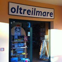 Photo taken at Oltre Il Mare Libreria Wine Bar by Salvatore S. on 7/29/2012