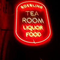 Photo taken at Roebling Tea Room by Brett T. on 1/28/2012