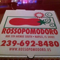 Photo taken at Rossopomodoro by Travis T. on 12/11/2011