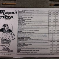 Photo taken at Mama's Pizza by Sonov A. on 12/23/2011