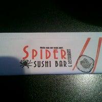 Photo taken at Spider Sushi by Nick B. on 11/11/2011