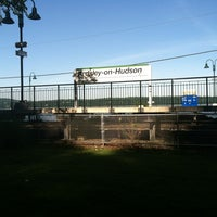 Photo taken at Metro North - Ardsley-on-Hudson Train Station by Jess R. on 6/16/2012