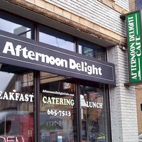 Photo taken at Afternoon Delight by Suzanne S. on 9/4/2011