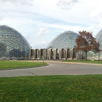 Photo taken at Mitchell Park Horticultural Conservatory (The Domes) by Brian F. on 4/18/2012