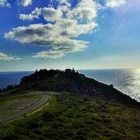 Photo taken at Faro de Fisterra by Praia de Quenxe H. on 11/23/2011