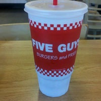 Photo taken at Five Guys by Shawn W. on 9/1/2011