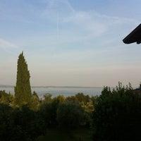 Photo taken at B&B Garni del Gardoncino  / Manerba del Garda / Italy by Ines E. on 7/23/2012