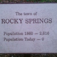 Photo taken at Rocky Springs, Ms. by Michael S. on 5/1/2011