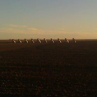 Photo taken at Cadillac Ranch by Halei P. on 12/14/2011