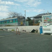 Photo taken at Higashi-Yokota Station by Isa F. on 12/31/2011